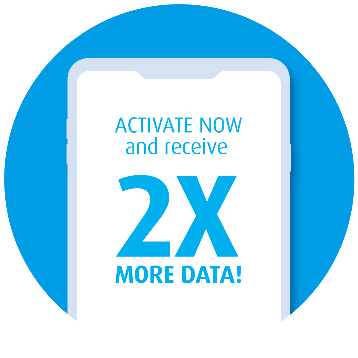 Get 2X more data!